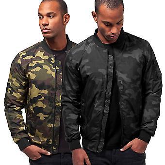 Urban classics - LIGHT CAMO bomber jacket Camo