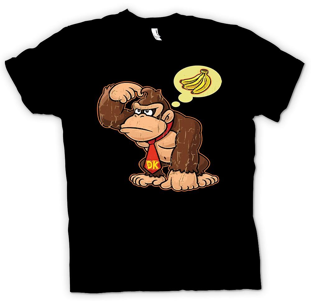 Mens T-shirt - Donkey Kong Bananas - Gamer