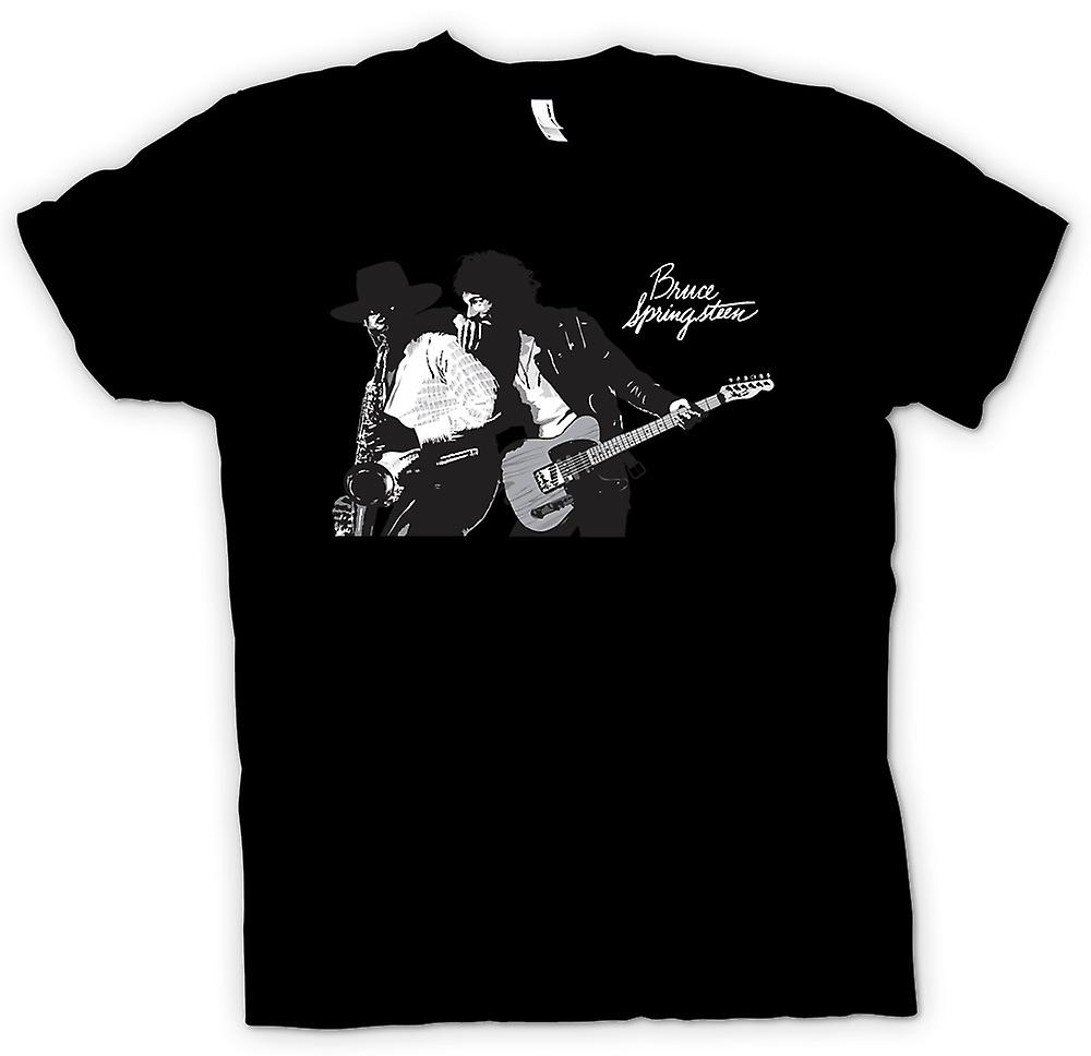 Hommes T-shirt - Bruce Springsteen Born To Run
