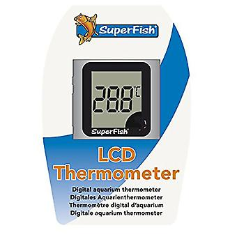 Superfish Fish Aquarium Glass Thermometer