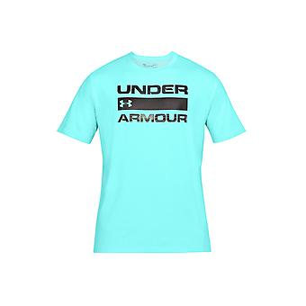 UA Team Issue Wordmark 1314002-425 Mens T-shirt