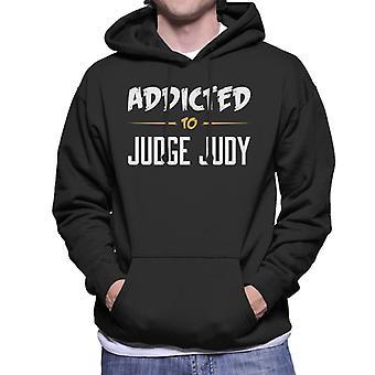 Addicted To Judge Judy Men's Hooded Sweatshirt