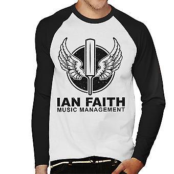Spinal Tap Ian Faith Musik Management Herren Baseball T-Shirt Langarm