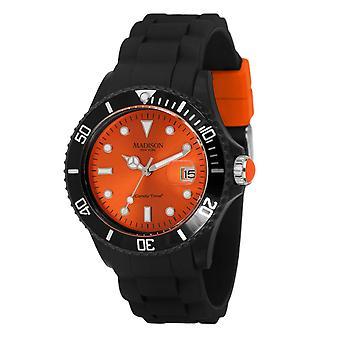Candy time by Madison N.Y.. watch unisex U4486-04-1 orange