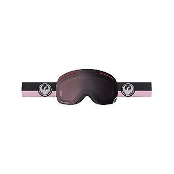 Dragon Flux Pink-Transitions Light Rose 2016 X1S Snowboarding Goggles