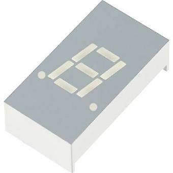 Kingbright Seven-segment display Green 7 mm 2.2 V No. of digits: 1 SA03-55GWA