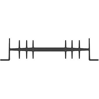 Heat sink 2.3 C/W (L x W x H) 75 x 111 x 26 mm Fischer Elektronik SK 01 75 SA-CB