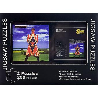 David Bowie Earthling Doppel Jigsaw Puzzle In Dose
