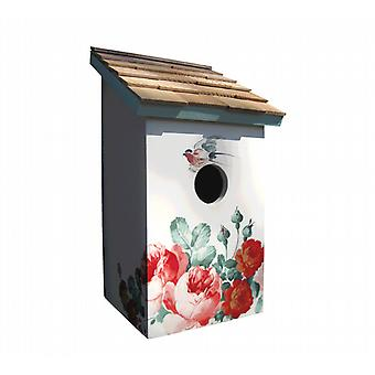 Piwonia Saltbox Bird House