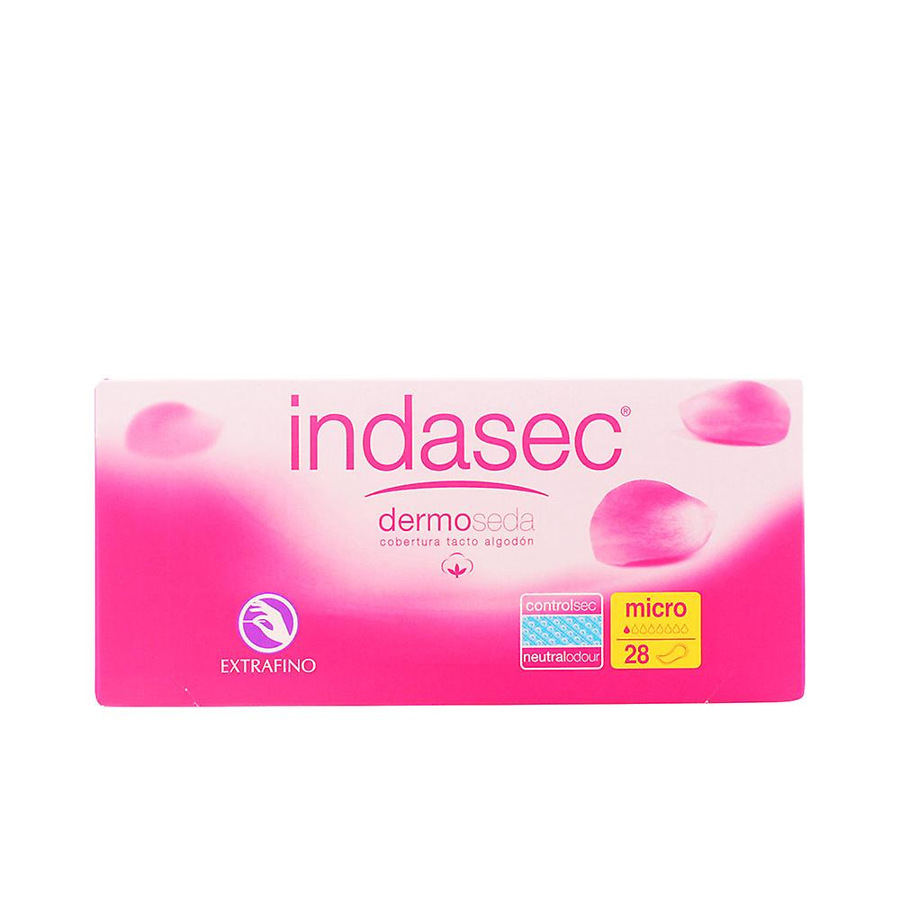 Indasec Dermoseda Compresa Incontinencia Micro 28 Units Womens New