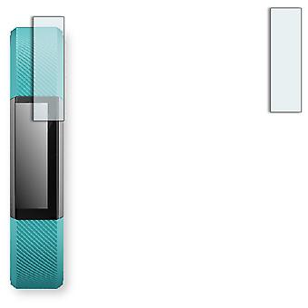 Fitbit Alta display protector - Golebo crystal-clear protector (deliberately smaller than the display, as this is arched)