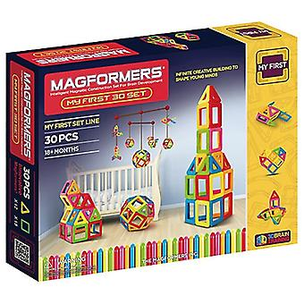 Magformers My First 30 Magnetic Set Educational Construction and Building Toy