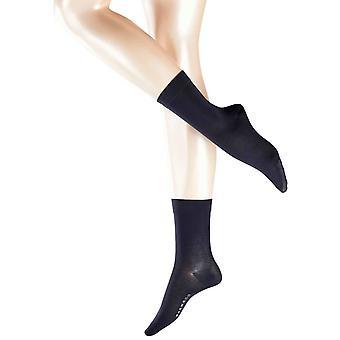 Фалке хлопок Touch носки - темно-синий
