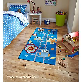 Owl House blauw tapijt