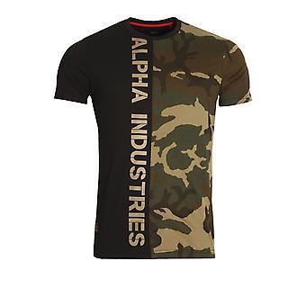 Alpha Industries Camo halv T-Shirt