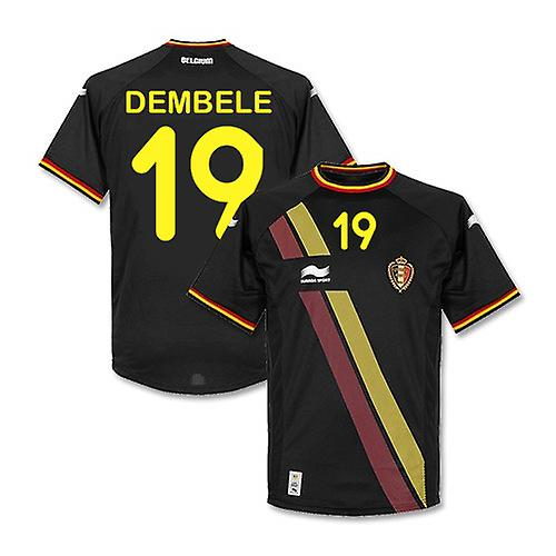 2014-15 België World Cup weg Shirt (Dembele 19) - Kids