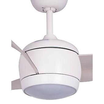 Energy-saving LED Ceiling Fan Nordic White 142cm / 56