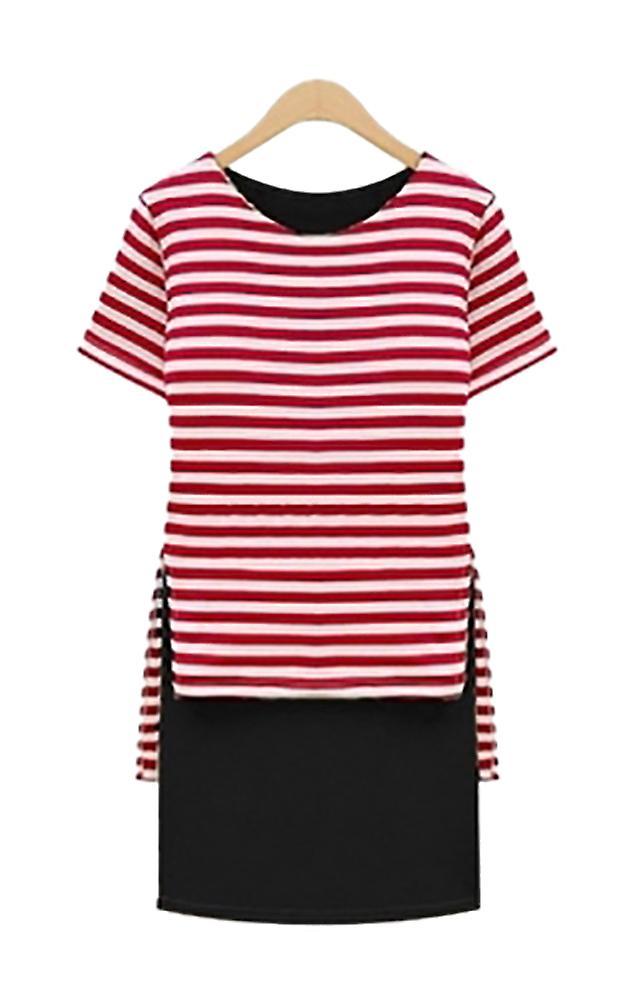 Waooh - Dress sailor motif Oven