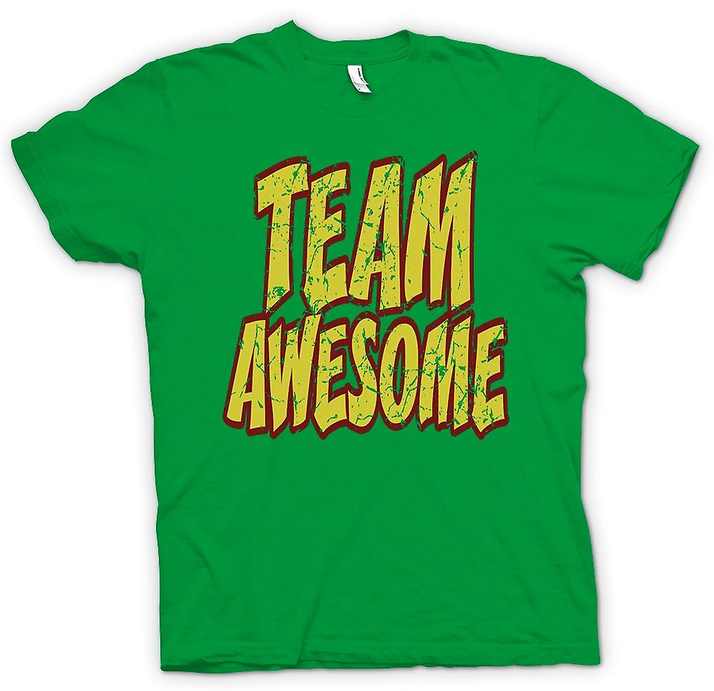 Mens t-skjorte - Team Awesome - Funny