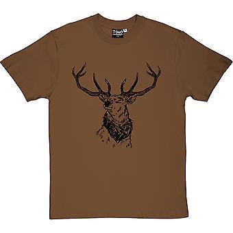 Camiseta ciervos rojos hombres