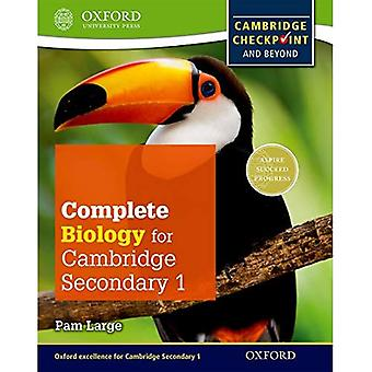 Completa la biología para Cambridge secundaria 1 libro del alumno: para control de Cambridge y más allá (ciencia del control)