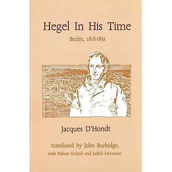Hegel in His Time