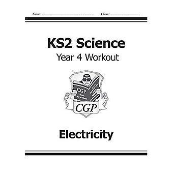 KS2 Ciencia cuatro ejercicios: electricidad (para el nuevo plan de estudios)