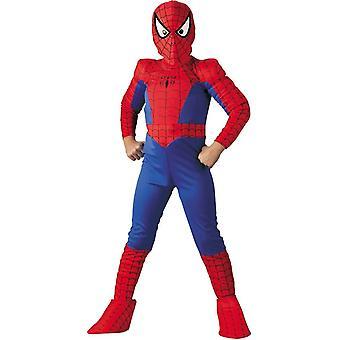 Klassisk Spiderman Child Costume