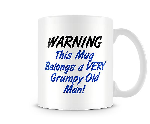 Belongs A Very Grumpy Old Man Mug