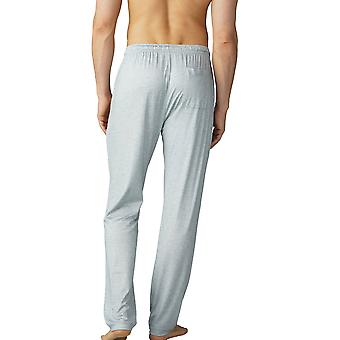 Mey Men 65660-620 Men's Jefferson Light Grey Melange Pyjama Pant
