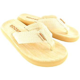 Womens Rocket Dog Sun Deck Summer Slip On Flip Flop Holiday Beach Sandals