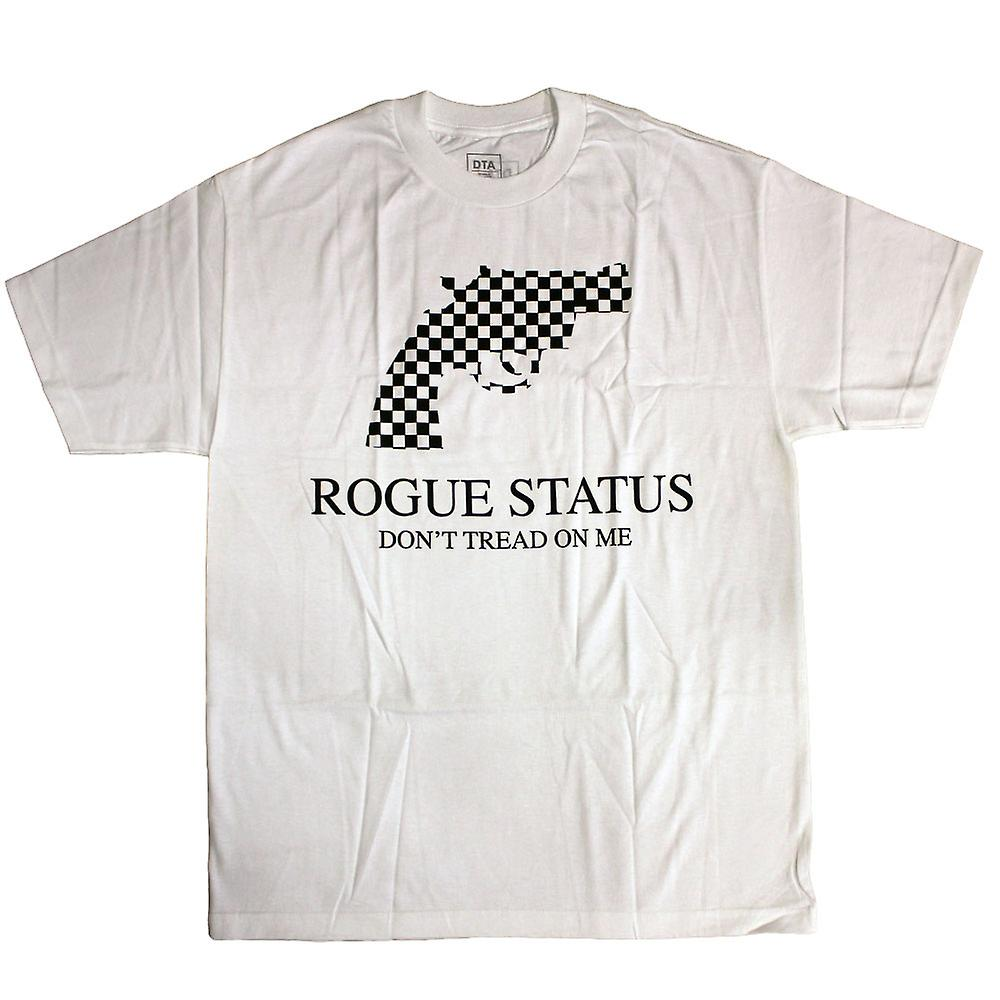 DTA RS Checkgun T-Shirt White