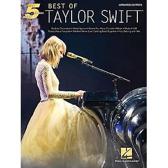 Best of Taylor Swift - Updated Edition - 9781495095429 Book