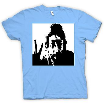 Womens T-shirt-John Lennon - Anti krig