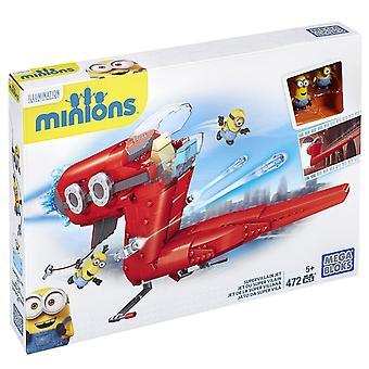 Mega Bloks Minions supervillain Jet zestaw