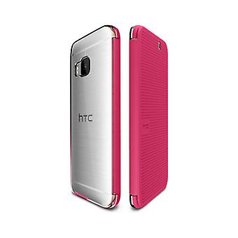 HTC Dot View Ice Case for HTC One M9 - Candy Floss Pink - 99H20129-00