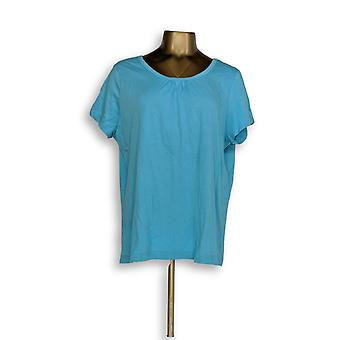 Carole Hochman Women's Sleepshirt Stretch Blue A294067