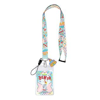 Lanyard - Disney - Dumbo w/Soft Touch Dangle New 85997
