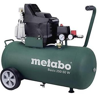 Air compressor 50 l Metabo Basic 250-50 W
