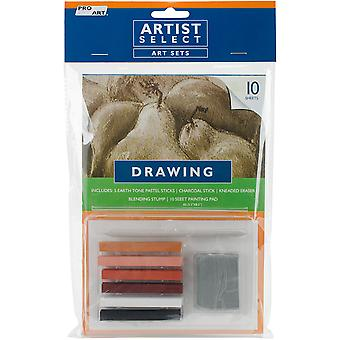 Pro Art Drawing Pastel Set-9pcs 33031330