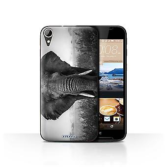 STUFF4 Case/Cover for HTC Desire 830/Elephant/Mono Zoo Animals