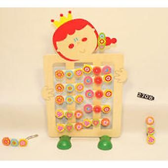 Cladellas  Clip Coletero Wood (Toys , Home And Professions , Makeup And Accessoiries)