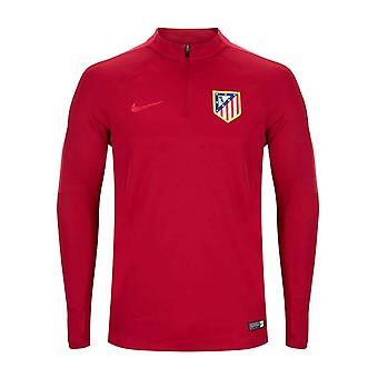 2016-2017 Atletico Madrid Nike Drill Top (Noble Red)