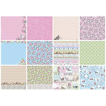 ScrapBerry's A Furry Little Story Paper Pack 12