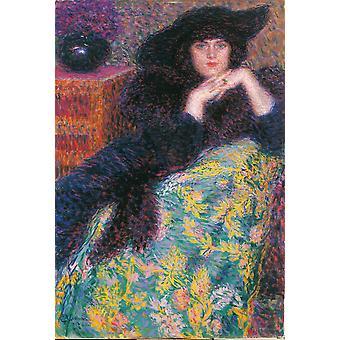Violet Poster Print