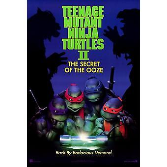 Teenage Mutant Ninja Turtles 2 The Secret of the Ooze Movie Poster Print (27 x 40)