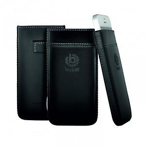 Bugatti pure premium leather case Samsung Galaxy S4 i9500 black