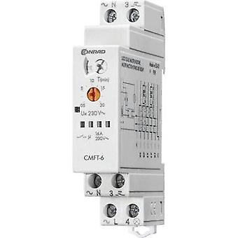Staircase multiway switch Multifunction 1 pc(s) Conrad Components CMFT-6 ATT.FX.TIME-RANGE: 0.5 - 20 min 1 maker