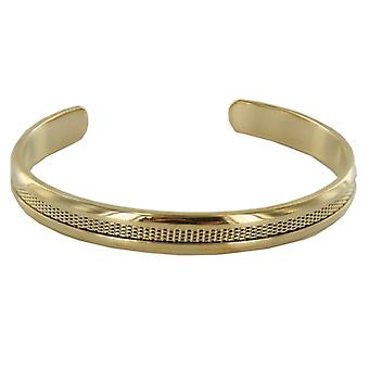 Skagen Ladies Bangle Milanaise stainless steel gold JCSG029