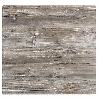 Deli Square 600M Kitchen Table Top Natural Vintage Pine Effect Commerical Quality